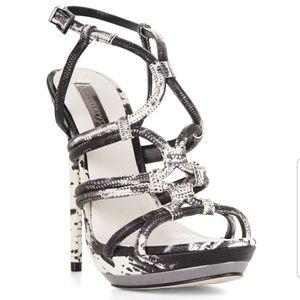 BCBG Max Azria Farrow High Heel Strappy Sandal